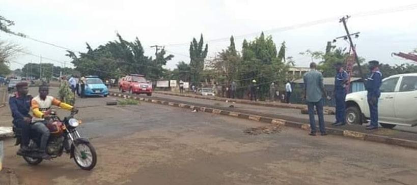 okada man burnt alive benue state
