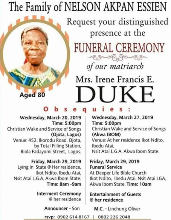 oliver duke mother burial photos