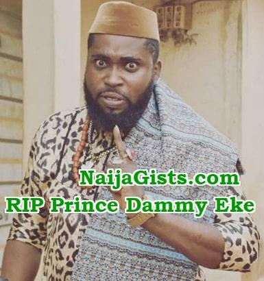 prince eke dead