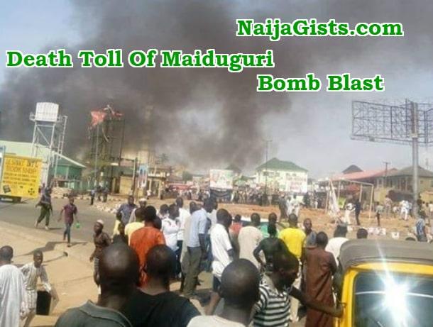 suicide bombing borno state