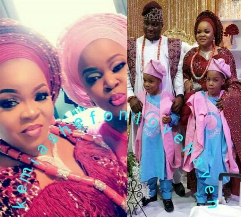 taiwo aromokun twin wedding