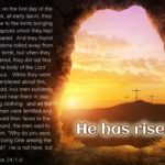 The First Easter Sunday, It's Witnesses And Some Questions