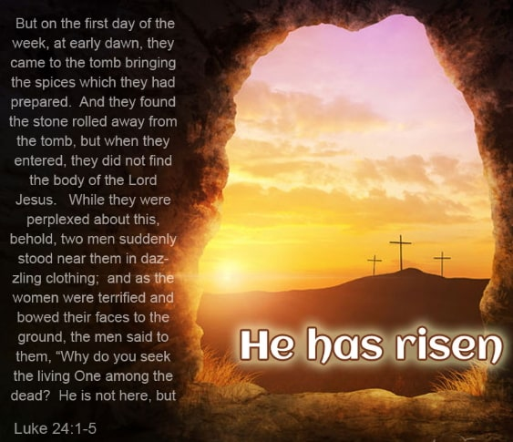 the first easter sunday