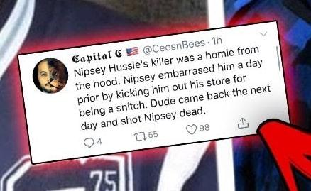 why nipsey hussle what killed
