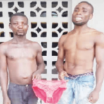 yahoo boys fight stolen underwear