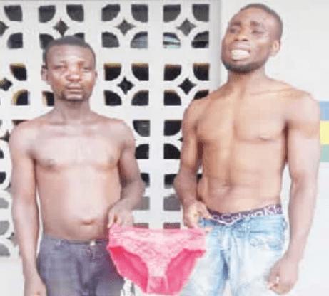 yahoo boys fight stolen underwear