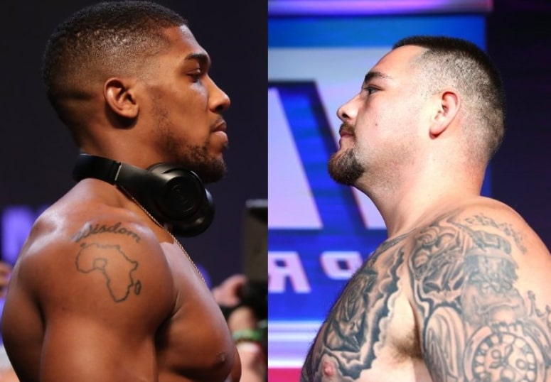anthony joshua andy ruiz fight date location