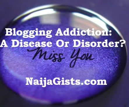 blogging addiction