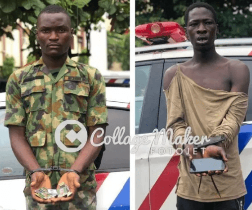 fake soldier arrested rrs