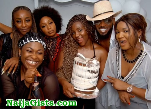 genevieve nnaji 40th birthday party