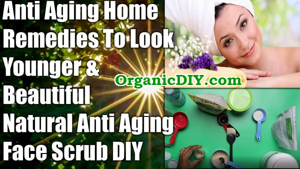 homemade anti aging face scrub