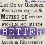 how to let go anger resentment bitterness