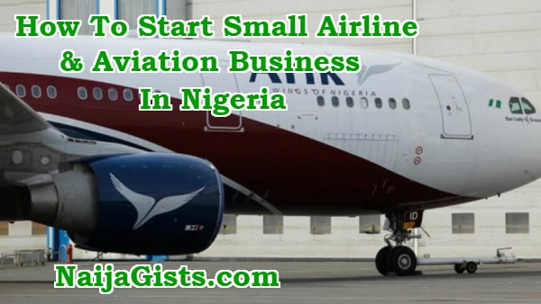 how to start small airline aviation business in nigeria