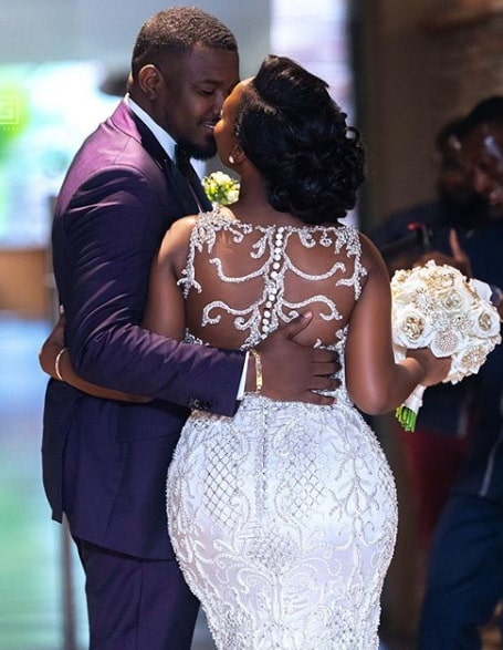 john dumelo white wedding photos