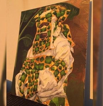 lagbaja artwork museum cyprus egypt