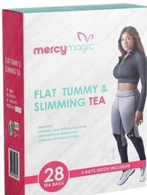 mercy johnson flat tummy slimming tea