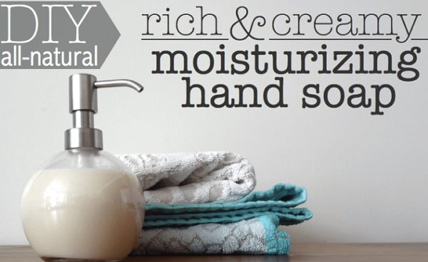 natural hand soap diy