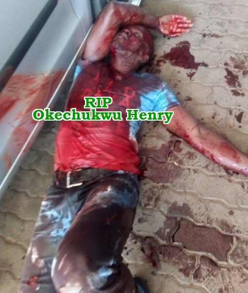nigerian car dealer stabbed death robbers south africa