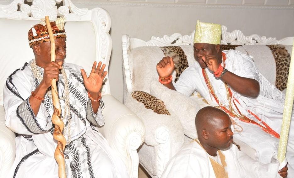 ooni of ife meets igbo monarch