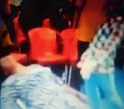pastor punch pregnant woman belly microphone