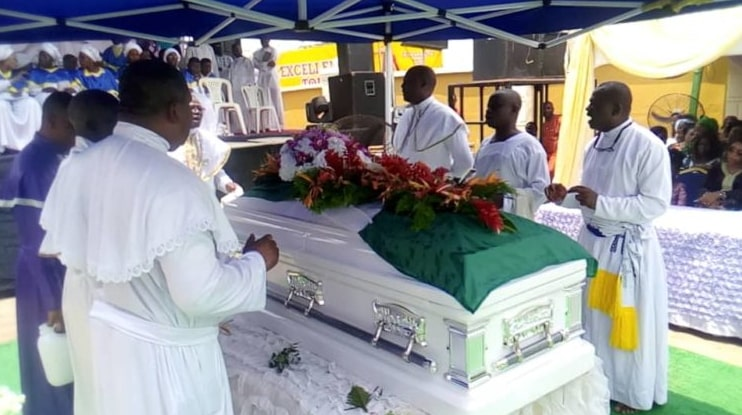 politician assassinated ibadan buried