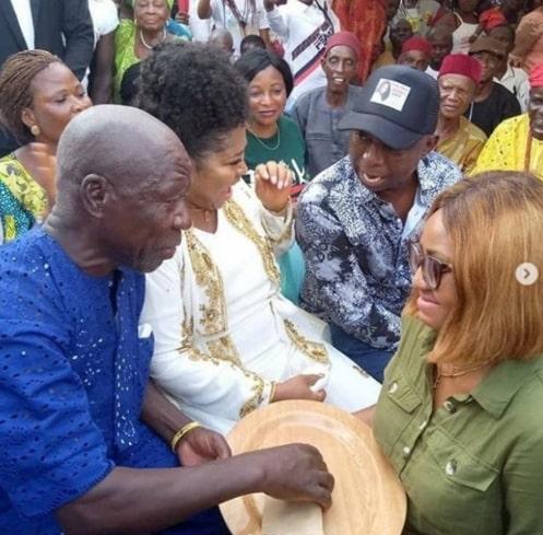 regina daniels mother forced her marry ned nwoko