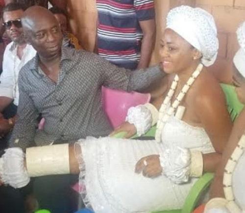 regina daniels wedding