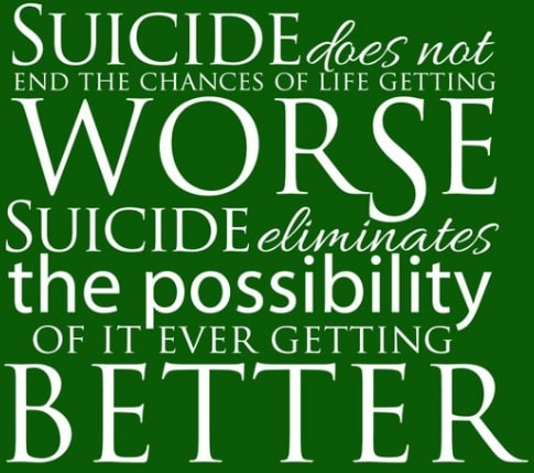 suicide not an option