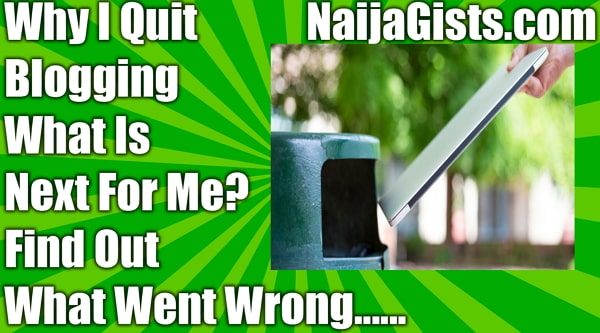 why i quit blogging news