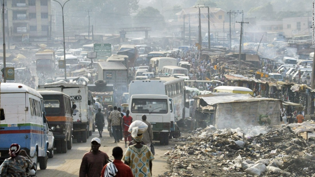 air pollution nigeria