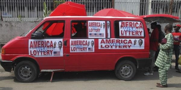 america visa lottery scams nigeria