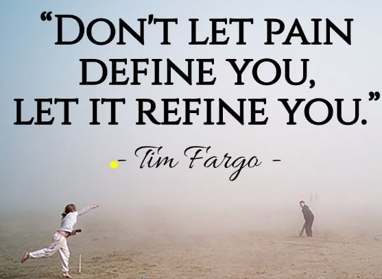 don't let your pain define you