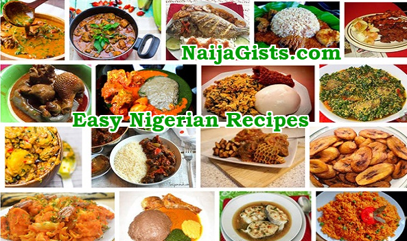 easy nigerian recipes