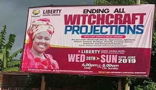 end witchcraft projections