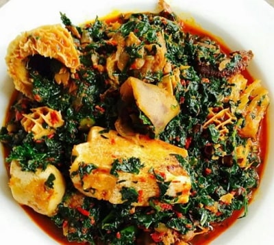 how to make efo riro with spinach