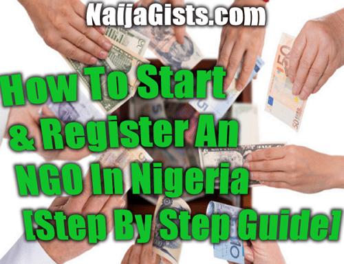 how to start register ngo nigeria