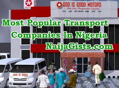 most popular transport companies in nigeria