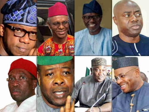 present nigerian governors and their deputies