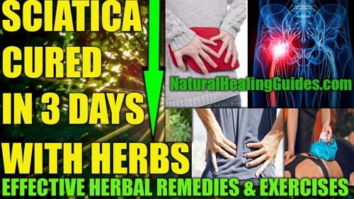 sciatic nerve pain treatment relief