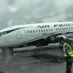 air peace plane crash lagos airport