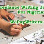 New Job Openings For Freelance Health Writers Based In Nigeria