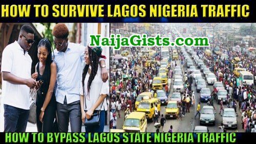 how to beat lagos nigeria traffic jam