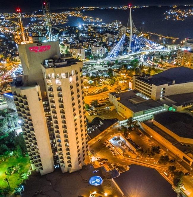 Jerusalem night view