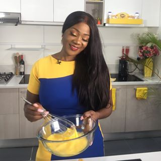 mercy johnson cooking show