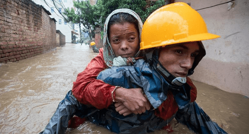 nepal flood death toll