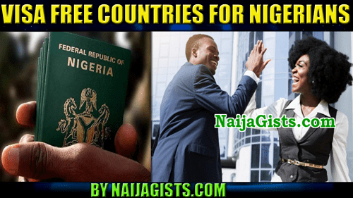nigeria visa free countries 2019