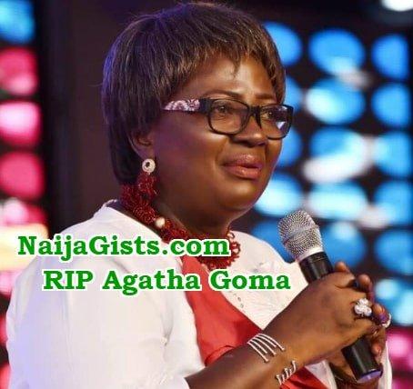 pastor Agatha Goma dead