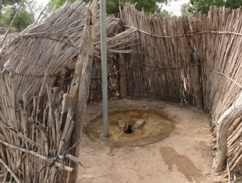 pit latrine toilet sinks kano