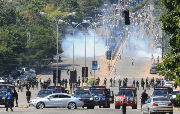 shiites police clash abuja death toll