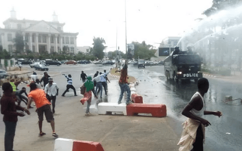 shiites police clash abuja